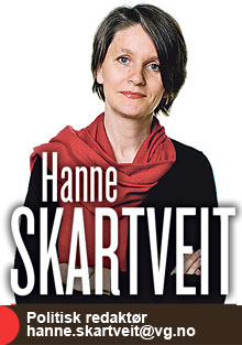 Hanne Skartveit kommenterer