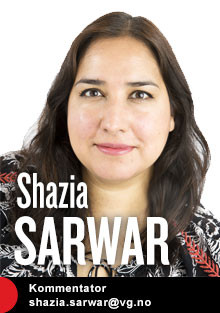 Shazia Sarwar kommenterer